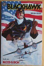 "DC Comics, ""Blackhawk"" Book 1: Blood & Iron, Photo's Show Great Condition"