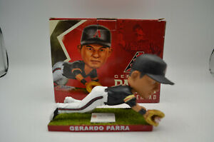 Gerardo Parra Arizona Diamondbacks, Black Jersey SGA Bobble Head, 2014 NIB
