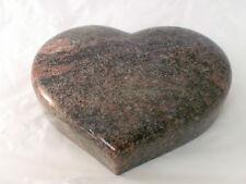 Herz Granit Himalaya als Garten Deko, Grabschmuck usw