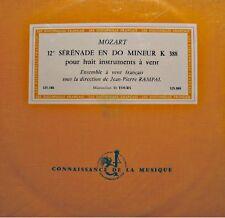 ++JEAN-PIERRE RAMPAL/ENSEMBLE À VENT FRANÇAIS 12e serenade MOZART LP 25cm VG++