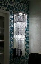 Large LED Crystal Bespoke Chandelier Wall Light Lamps Lighting  Custom/w1.2m