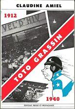 Toto GRASSIN, le roi du plancher par Claudine Amiel + ENVOIS, Vélo cyclisme