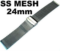 SHARK MESH 18mm 20mm 22mm 24mm SS DIVER'S WATCH BRACELET BAND FOR SEIKO CITIZEN