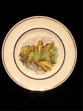 Warwick Castle England Commemorative Plate