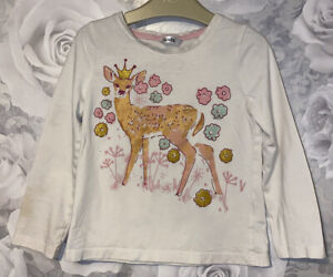 Girls Age 3-4 Years - Long Sleeved Top
