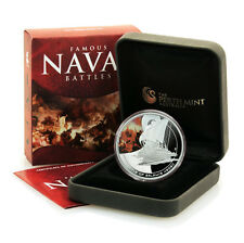 Cook Is Famous Naval Battles Salamis 480 BC $1 2010 Proof Silver Crown Mint Box