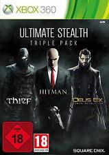 Ultimate Stealth Triple Pack (Microsoft Xbox 360, 2014, DVD-Box)