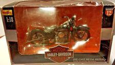 Maisto Harley Davidson 1958 FLH Duo Glide Motorcycle Diecast 1:18 Series 12