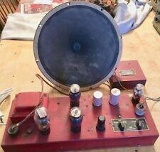 1940s Wurlitzer 700 Jukebox Amplifier & speaker Working