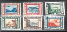 Italy  Sc C42-47 MNH issue of 1933 - Great Zeppelin Set