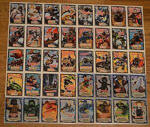 Lego® Ninjago™ Trading Card Game Karten aussuchen Sammelkarten Nr. 141 - 190