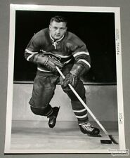 Original Mid-50's Dickie Moore Mtl Canadiens Photo