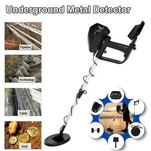 Metalldetektor Gold Metal Detector Wasserdicht Tiefensonde mit LCD Display Tief