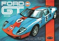 Polar Lights Gulf 2006 Ford GT SNAP 1/25 scale model car kit new 955