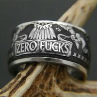 Women Men Stainless Steel Cool Gothic Punk Biker Finger Rings Jewelry Rock Gift
