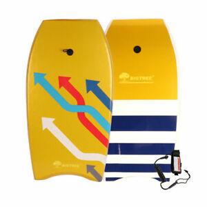 """Bodyboard Kickboard Surfing Skimboard Wake Boogie Board Pool Toy Arrow 37"""""""