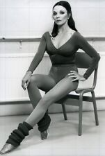 "JOAN COLLINS - 12"" x 8"" Stunning Full Length Photograph NUTCRAKER 1982"