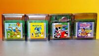 Yogi Bear, Mickey's Speedway, Monsters Inc Scooby Doo  - Nintendo Game Boy Color