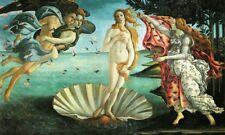 'La nascita di Venere quadro - Stampa d''arte su tela telaio in legno'