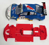 Chasis Block lineal Toledo GT SCX Scalextric ES High Performance Mustang Slot