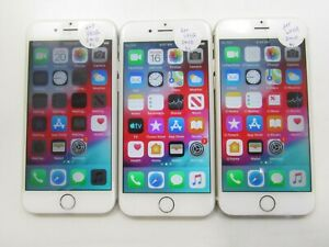 Lot of 3 Apple A1549 iPhone 6 AT&T 64GB Check IMEI Poor Condition AD-1433