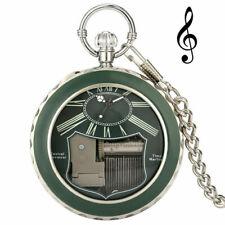 Spieluhr Taschenuhr Musikwerk Spielwerk Time Machine Musical Movement Swan Lake