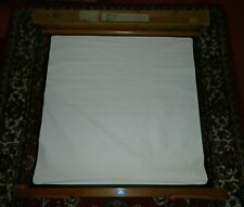 Vintage Gnome Wood & Canvas Lightweight Projector Screen  in Box