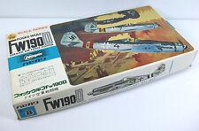 Hasegawa 1:72 Focke-Wulf FW190D German Airforce Fighter, model kit, coffret