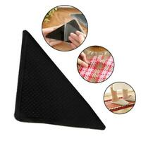 Rug Carpet Mat Grippers Non Slip Anti Skid Reusable Grip Washable.