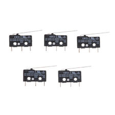 5Pcs Micro Limit Switch Long Lever Arm Subminiature SPDT Snap Action neOI