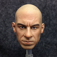 "1/6 scale Head Sculpt Vin Diesel Fast & Furious DominicToretto Fit 12"" figure#Us"