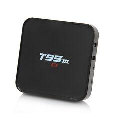 T95m S905X 1G+8G Android 6.0 Quad Core 4K TV Box Media Player Free Sports Movies