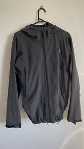 The North Face Grey Lightweight Full Zip Hooded Jacket Size Medium