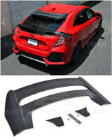 For 16-Up Honda Civic Hatchback FK4 FK7 JDM MUGEN Style Rear Roof Wing Spoiler
