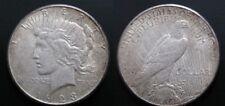 USA , 1 DOLLAR - DOLAR PEACE DE 1922 S . PLATA