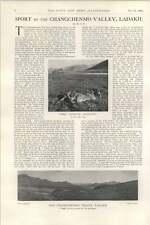 1902 Sport In The Chiangchenmo Valley Ladakh