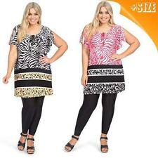 Autograph Viscose Animal Print Tunic Tops & Blouses for Women