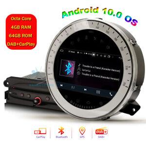 "For BMW Mini Cooper Car Steero GPS Head Unit 7"" Android 10 BT CarPlay Radio Navi"