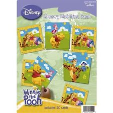 DISNEY Winnie the Pooh Memory Matching Game 20 cards Birthday Kids Party