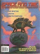SPACE AND TIME #124  Robert J. Sawyer interviewed; Darrell Schweitzer, Cthulhu