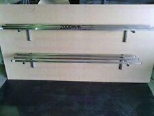 BRAND NEW STAINLESS STEEL COMMERCIAL SINGLE TUBE SHELF (2000x300mm) GRADE 304