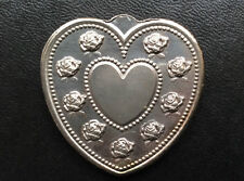 Especially For You Heart Shaped Silver Art Medal P2659