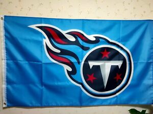Tennessee Titans Logo Flag 3X5 FT NFL Banner Polyester FAST SHIPPING!