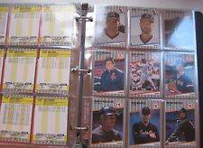 HUGE BASEBALL CARD LOT vtg 400+ rookie Red Sox Yankees Pawtucket paw Cubs Giants