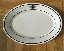 Vintage Hoppers Dining Car Plate Restaurant Ware Bone China Homer Laughlin