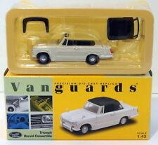Vanguards 1/43 Scale VA07401 - Triumph Herald Convertible - White