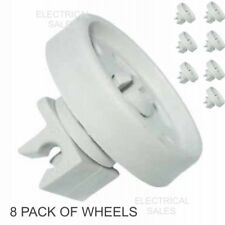 AEG ELECTROLUX ZANUSSI DISHWASHER LOWER BASKET WHEEL 4055259651 GENUINE 8 PACK