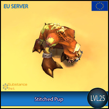 Stitched Pup lvl25 Pet | All Europe Server | WoW Warcraft Tier Loot