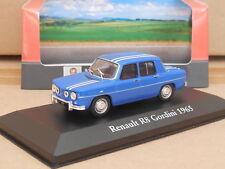 1/43 Atlas 1965 Renault R8 Gordini  Blue