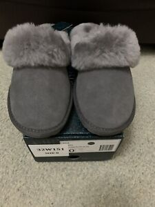 Emu Jolie Anthracite Ladies Slippers Size 8 BRAND NEW